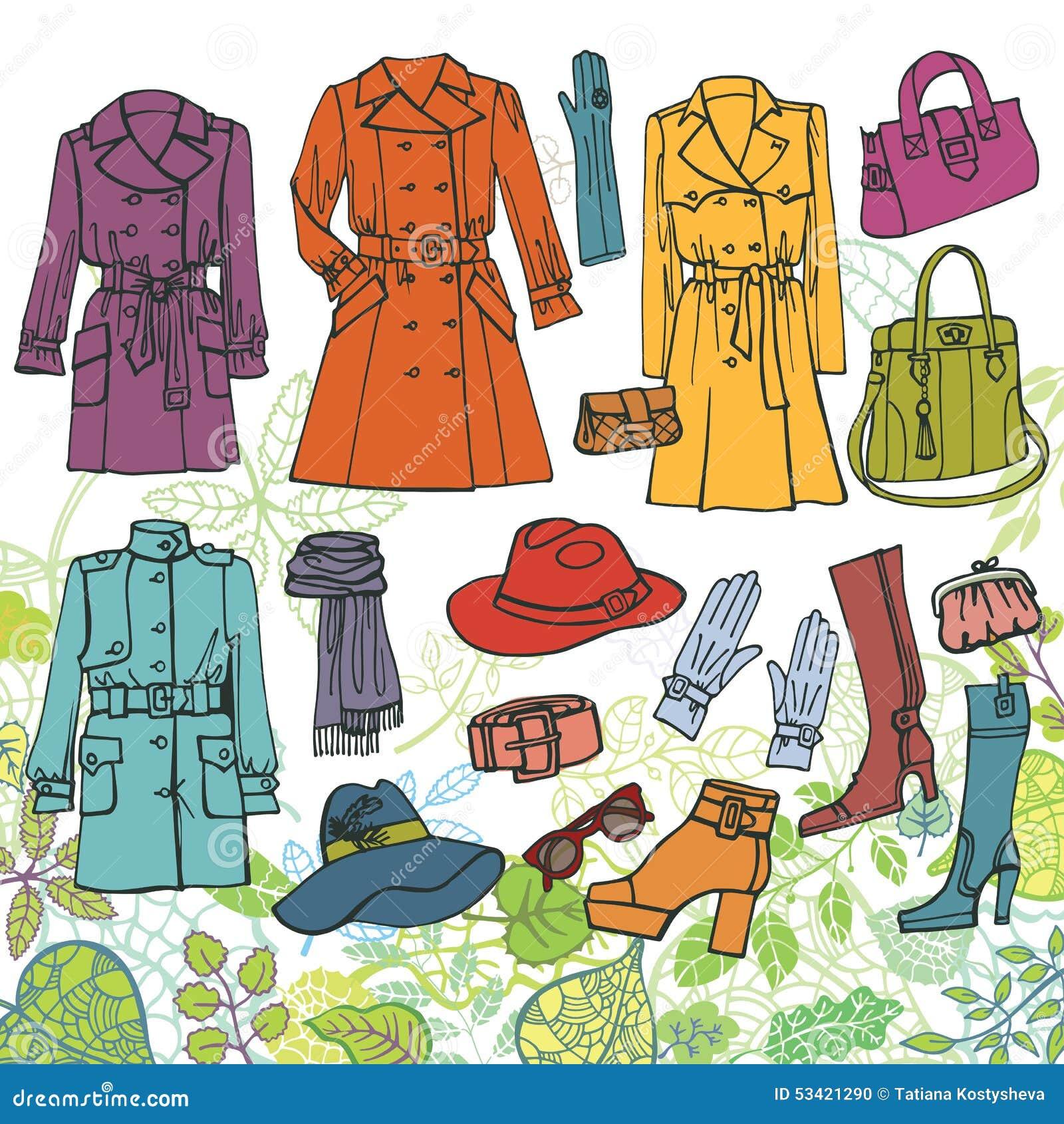 衣裳塑造集 春天女服,绿色
