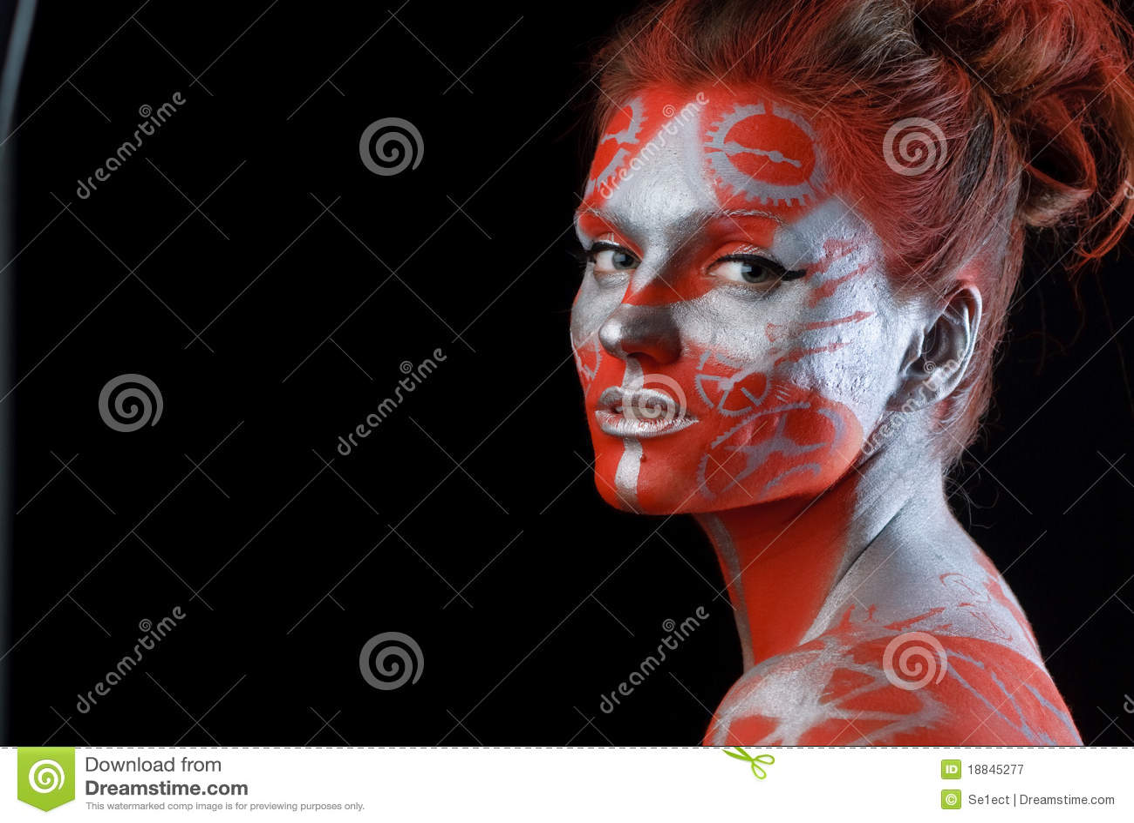 表面神秘主义者绘了妇女新