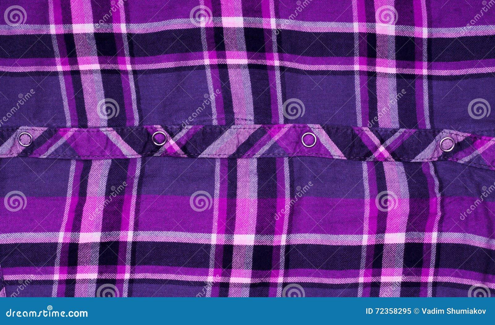 衬衣方格的织物纹理有用作为背景