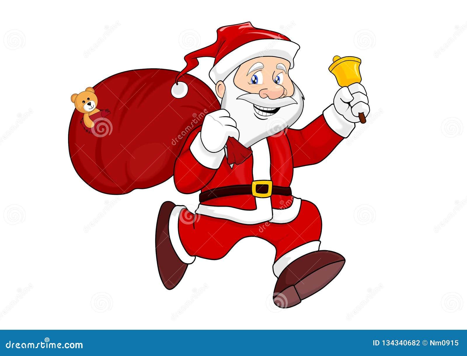 袋子克劳斯礼品圣诞老人