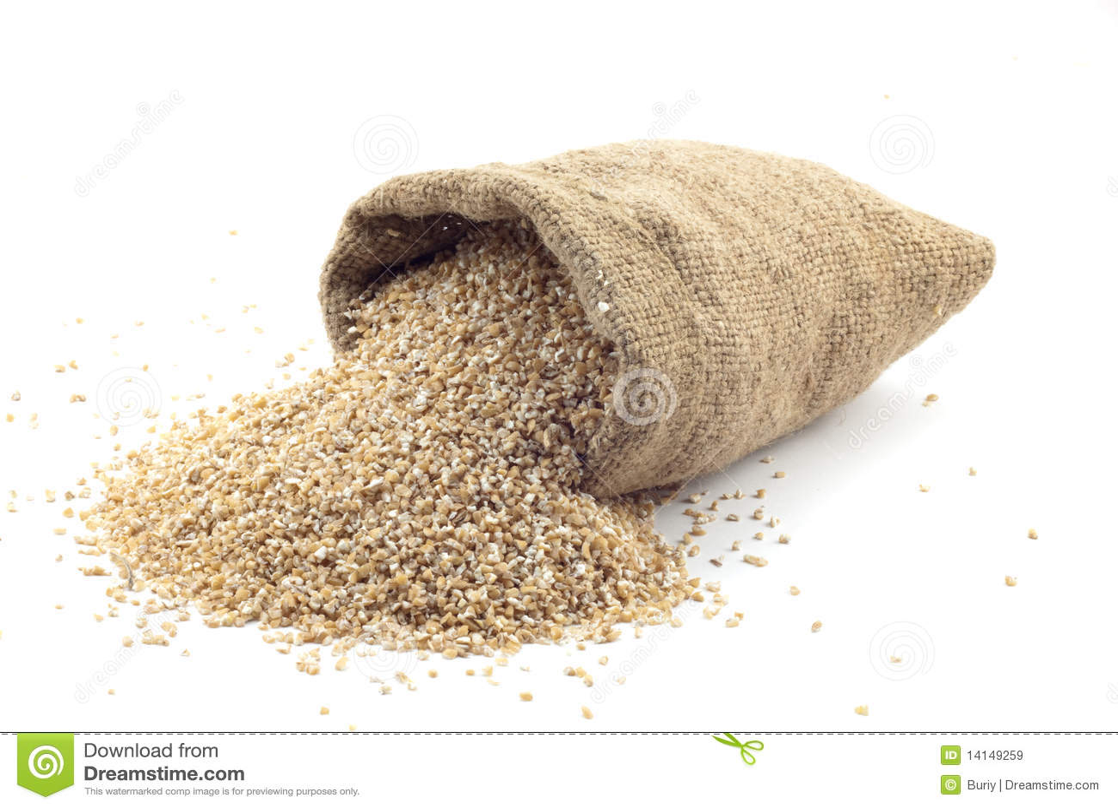 袋子谷物小的麦子