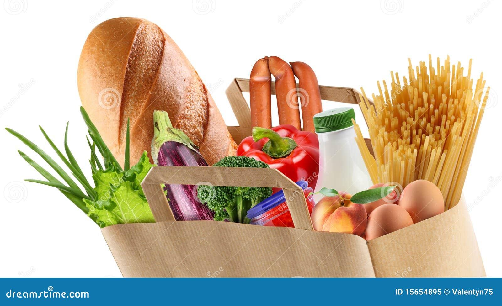 袋子食物纸张