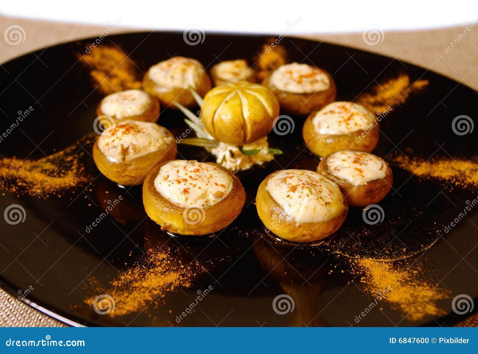 被充塞的蘑菇