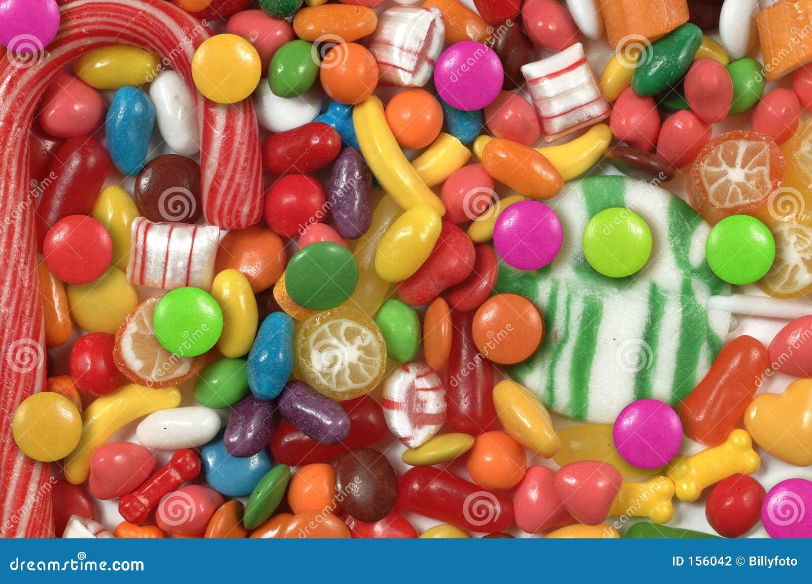 被分类的糖果