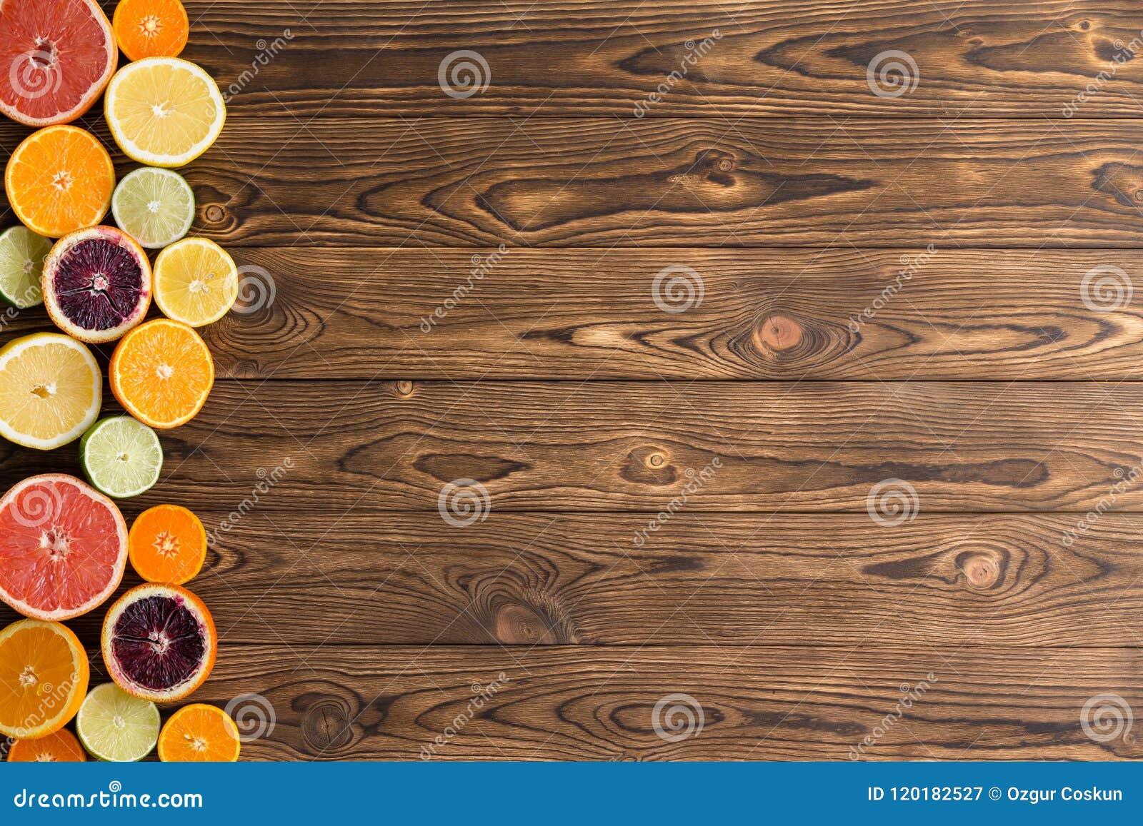 被分类的裁减新鲜的成熟柑桔