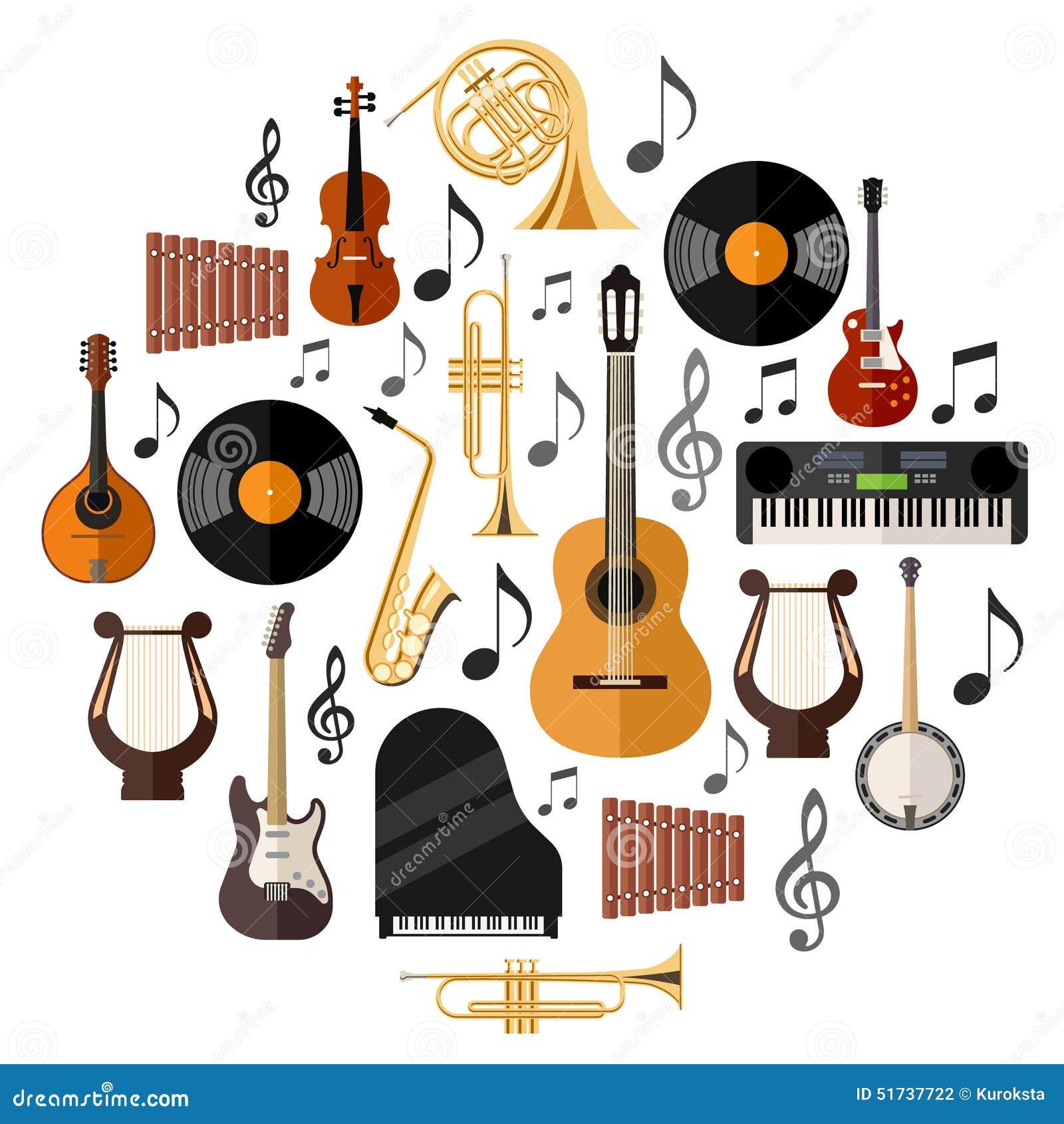中方乐器的分类 图片合集