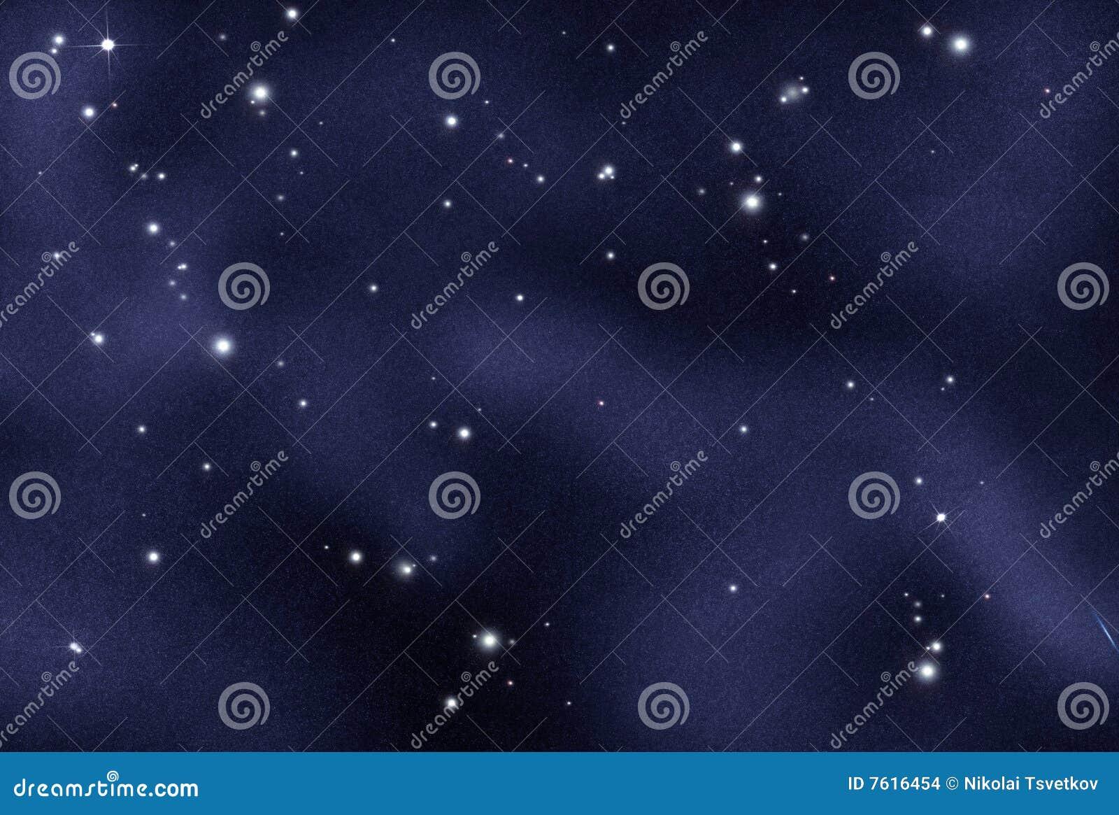 被创建的数字式starfield
