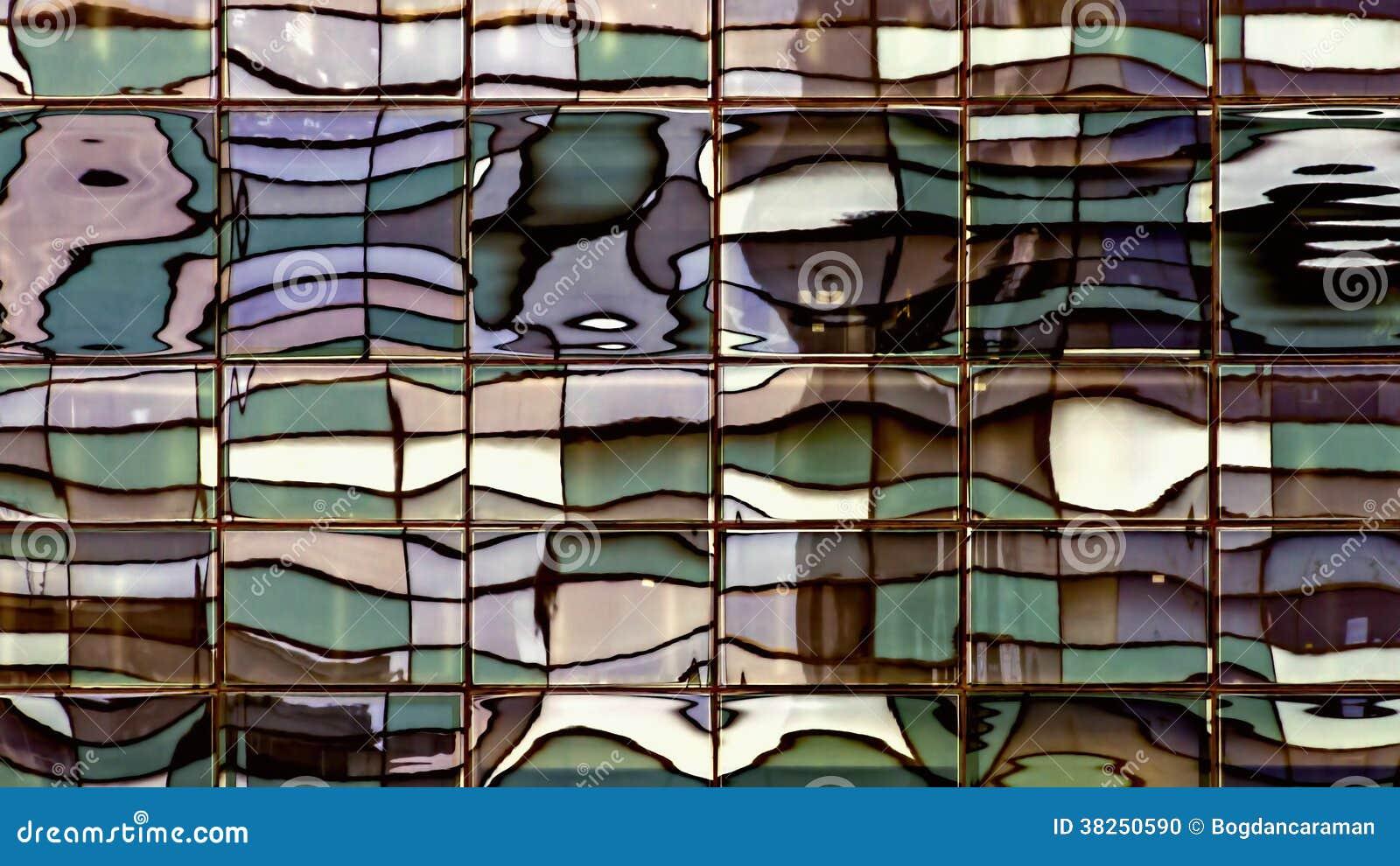 被变形的Windows反射-被替换的颜色