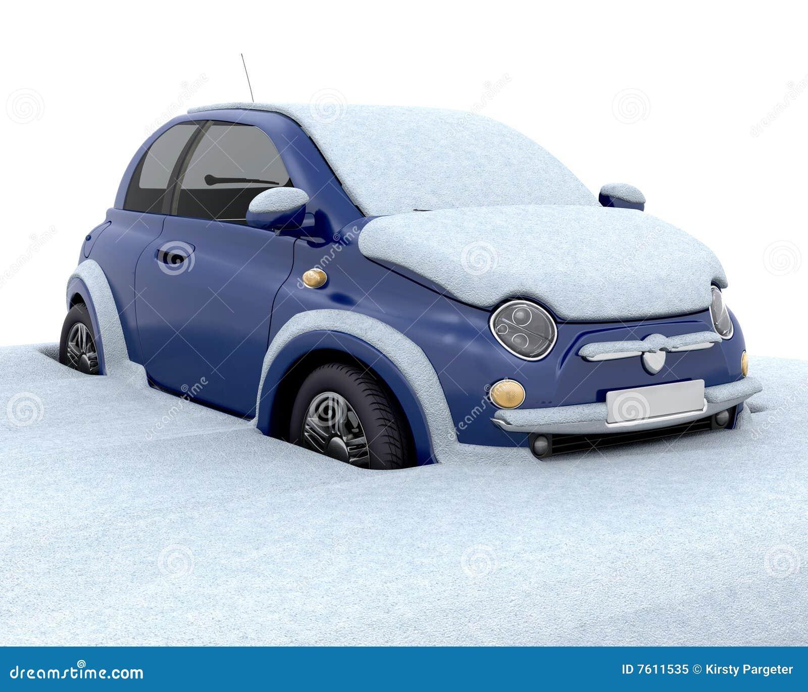 被困住的雪