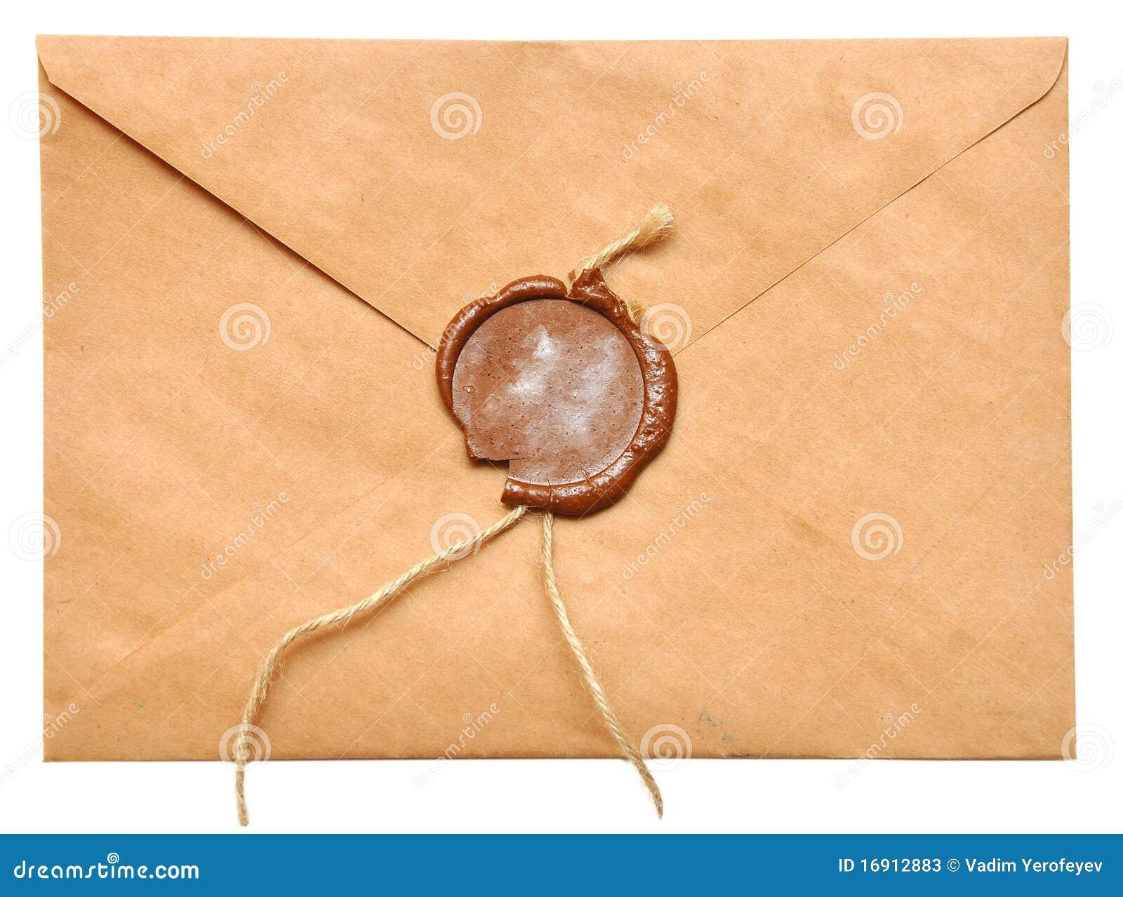 被密封的信包