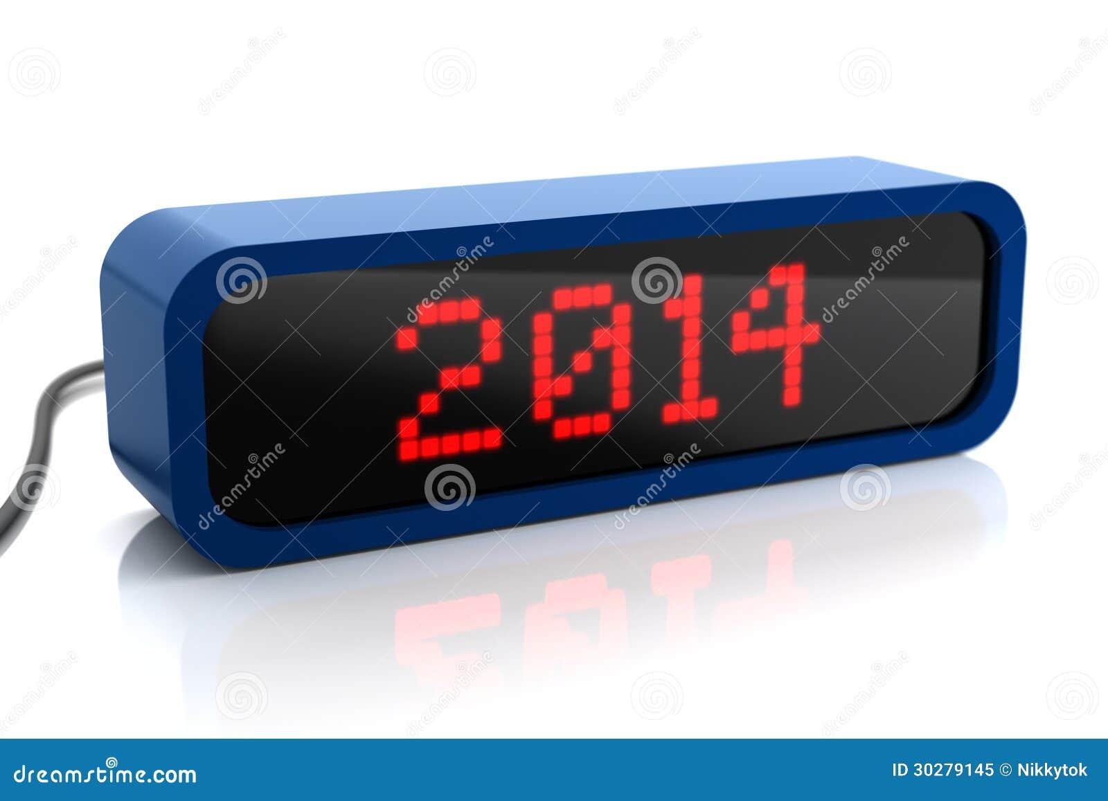 2014年被带领的显示