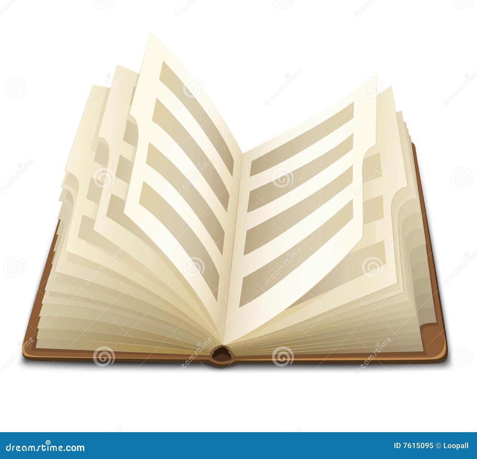 被开张的书呼叫文本