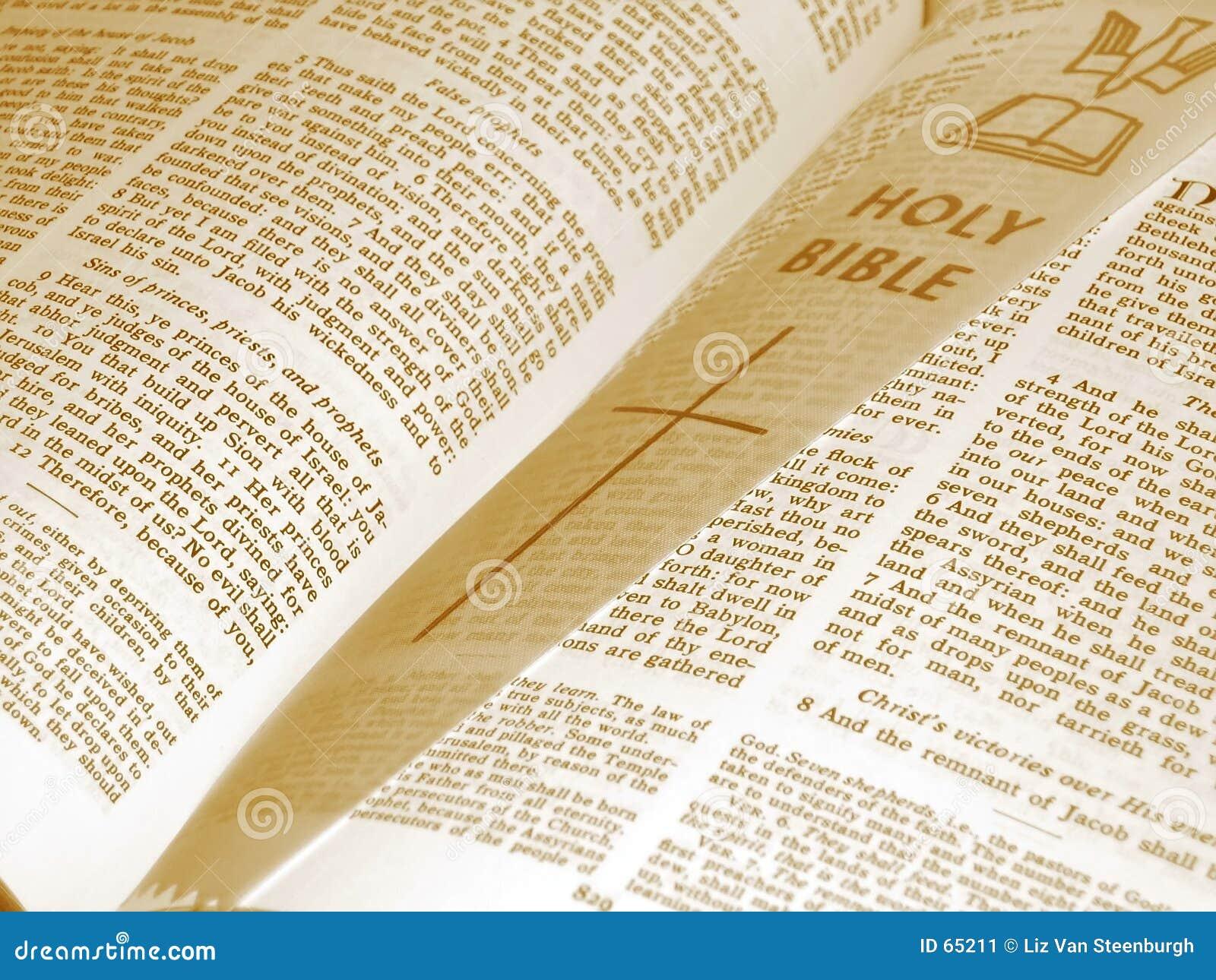 被开张的圣经