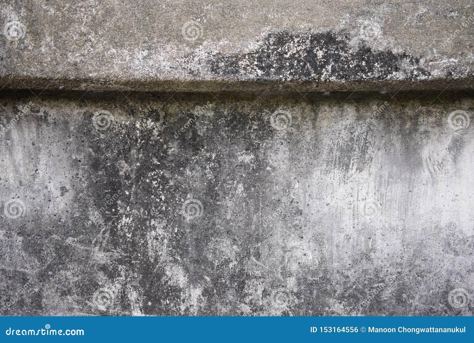 被弄脏的混凝土墙纹理