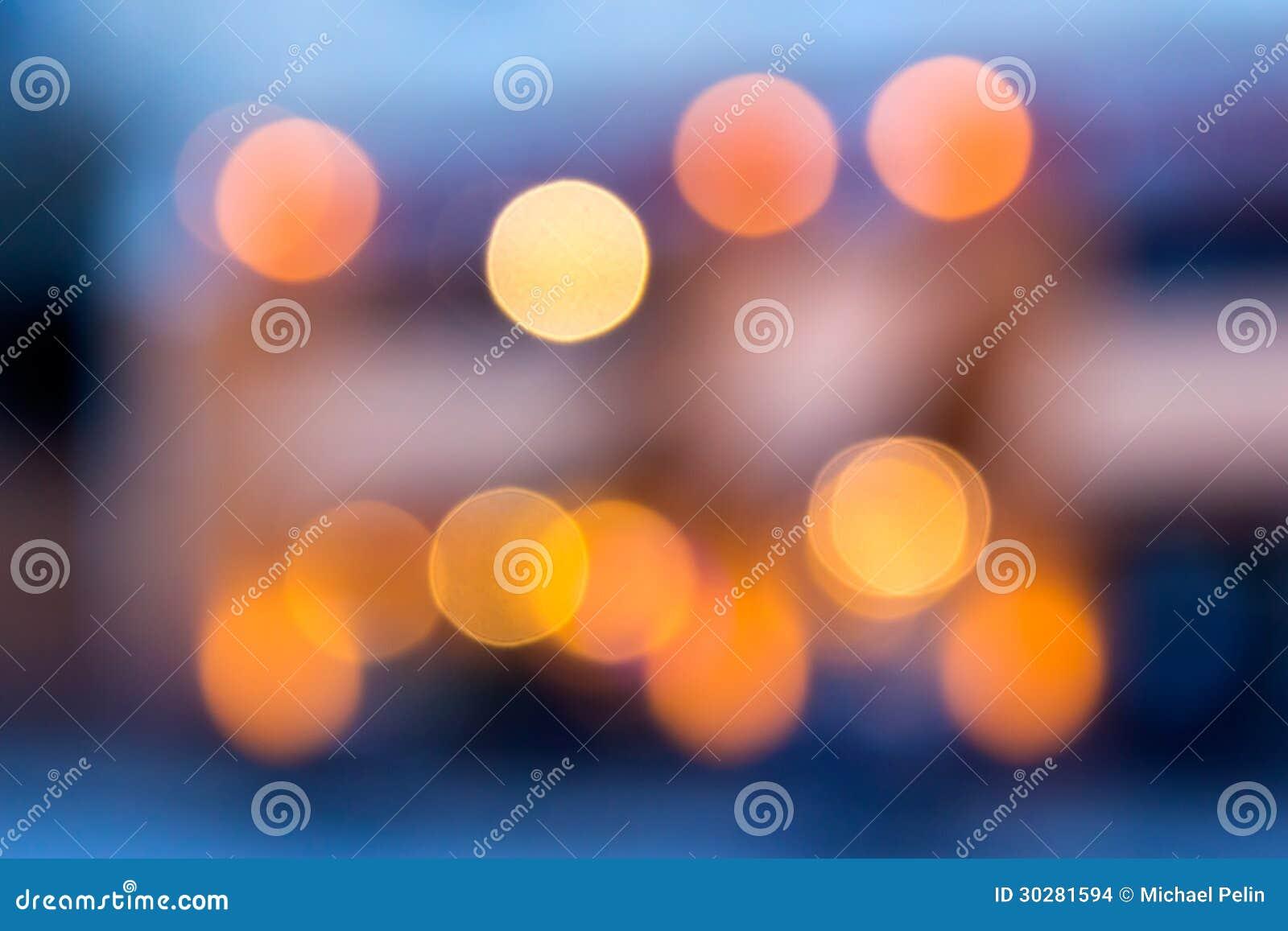被弄脏的光抽象背景与bokeh作用的