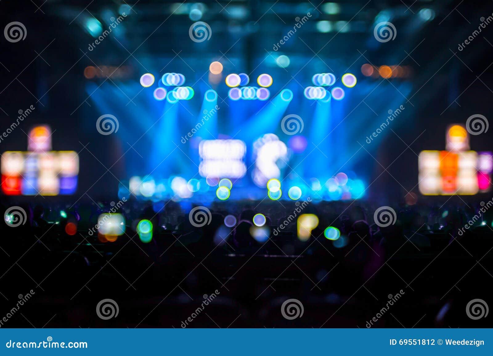 被弄脏的背景:协力观众, Mu的Bokeh照明设备