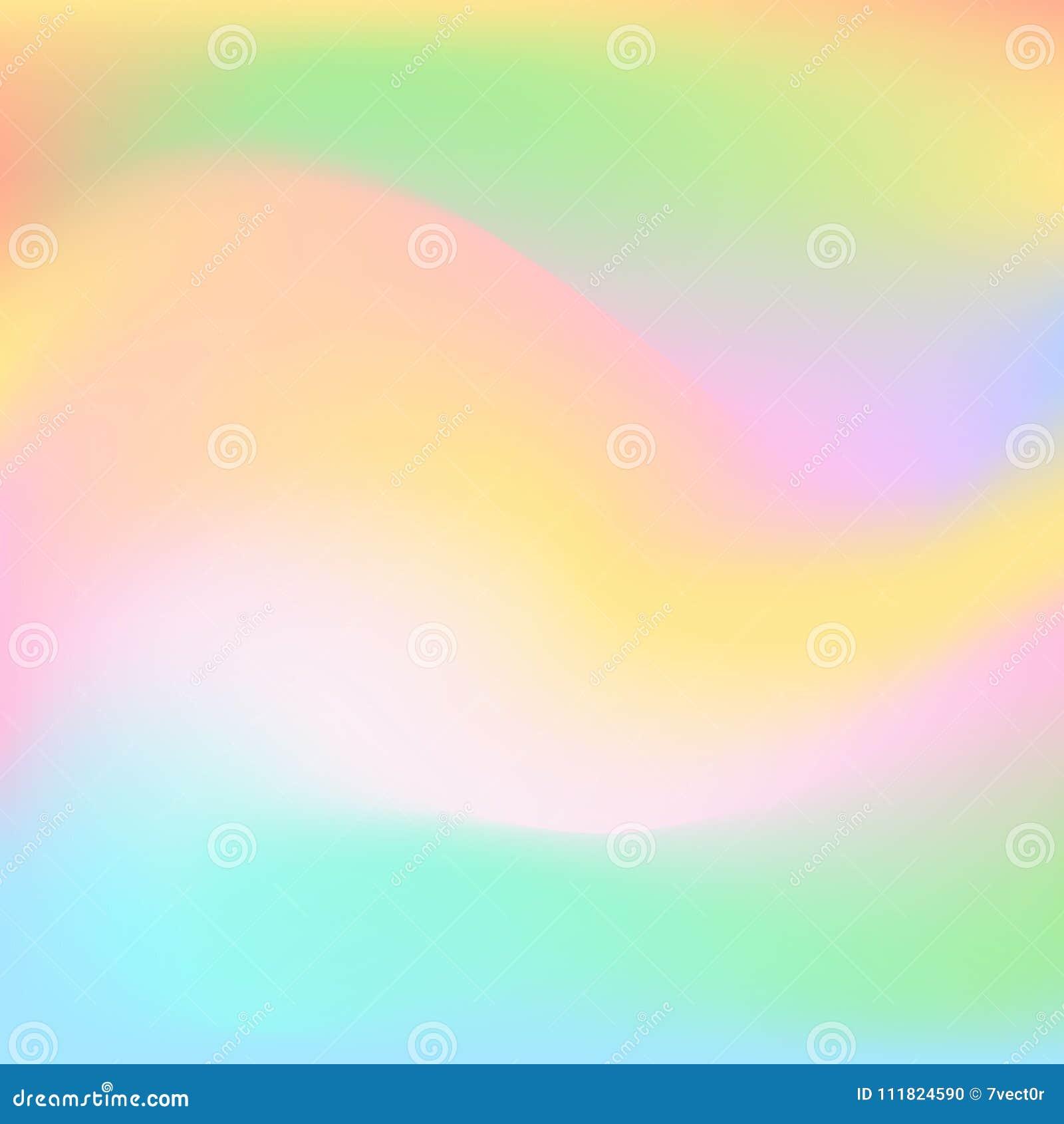 被弄脏的软的五颜六色的复活节春天新光滑的桃红色蓝绿色黄色白色颜色使波浪梯度流程纹理背景光滑