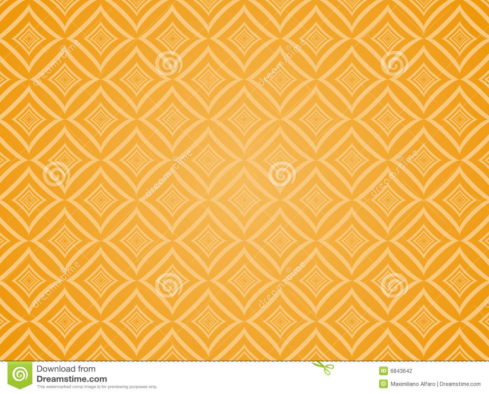被摆正的橙色模式