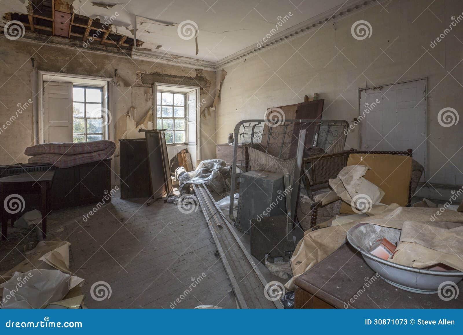 被放弃的大厦-遗弃内部