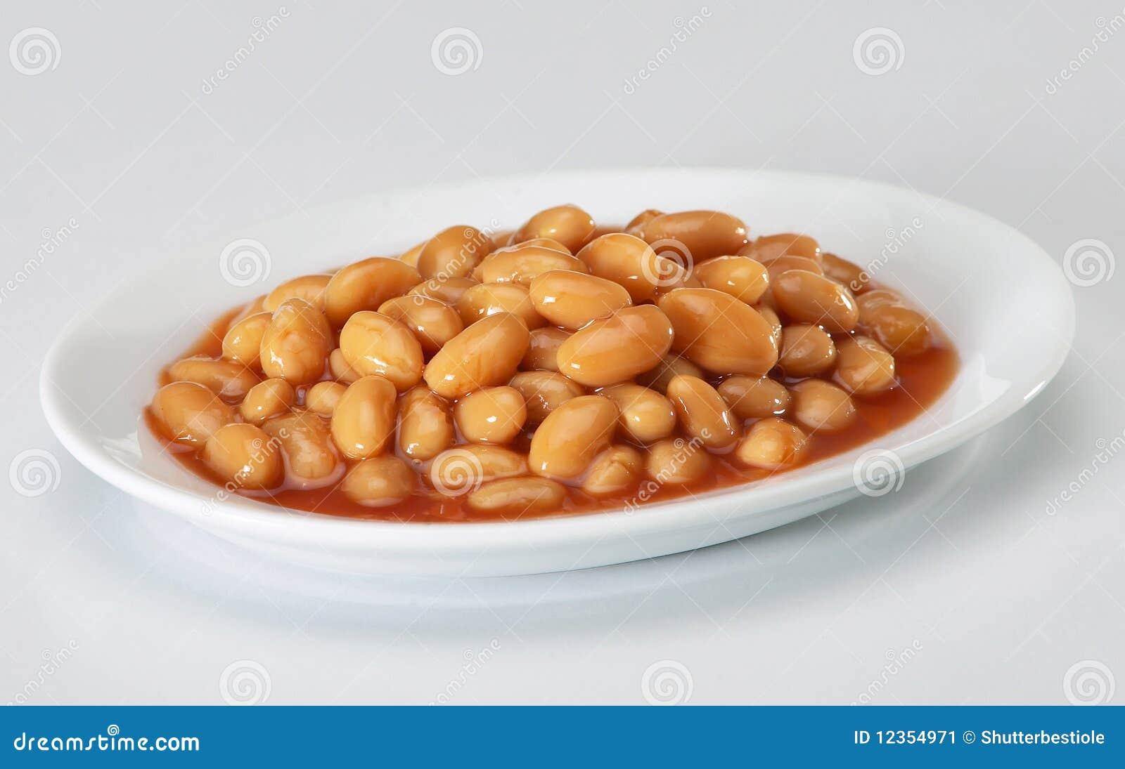 被烘烤的豆