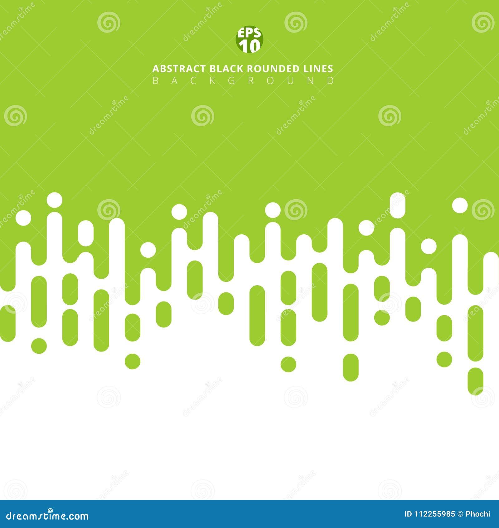 被环绕的抽象绿色排行半音转折 春天夏天