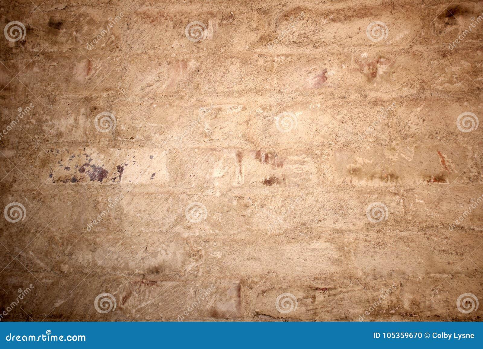 被绘的砖墙脏的纹理