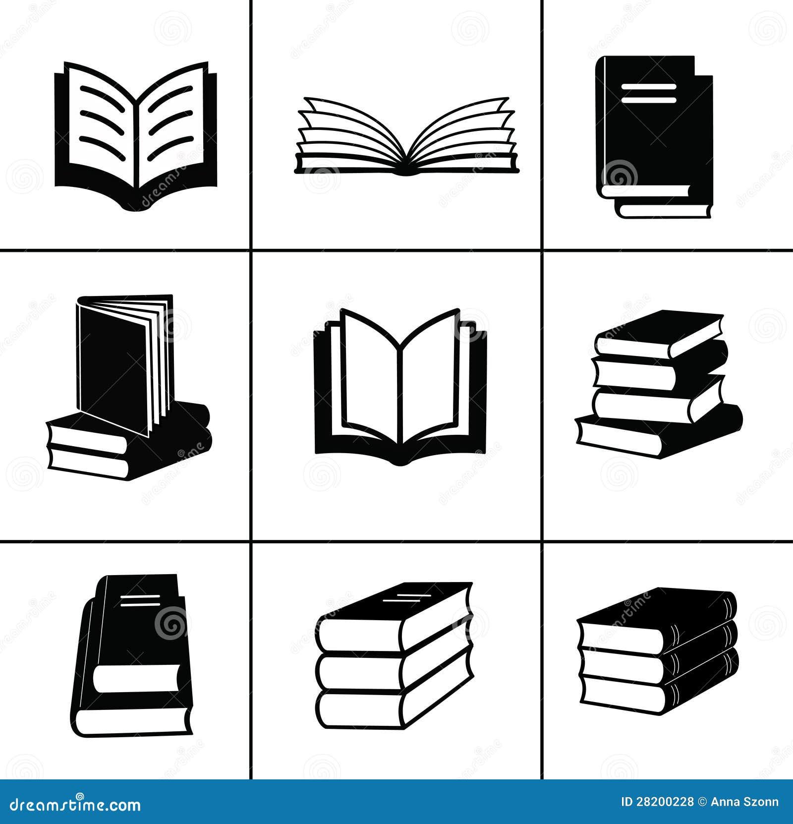 被设置的书图标。