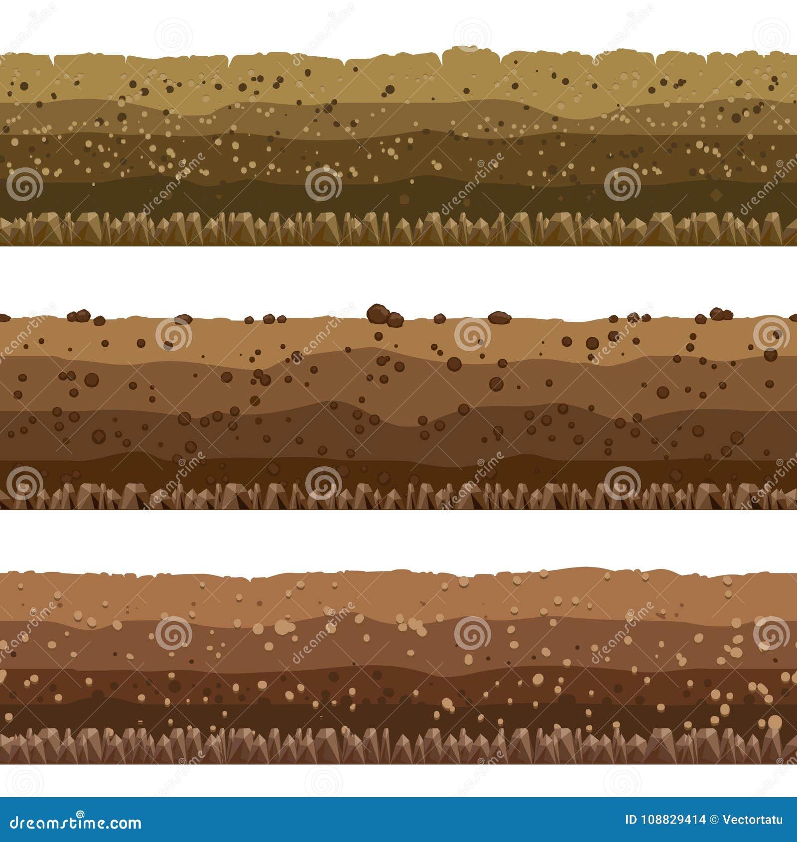 被设置的土壤层数