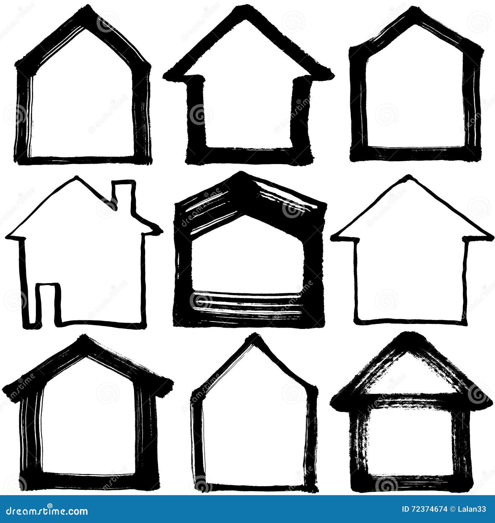 被设置的房子图标