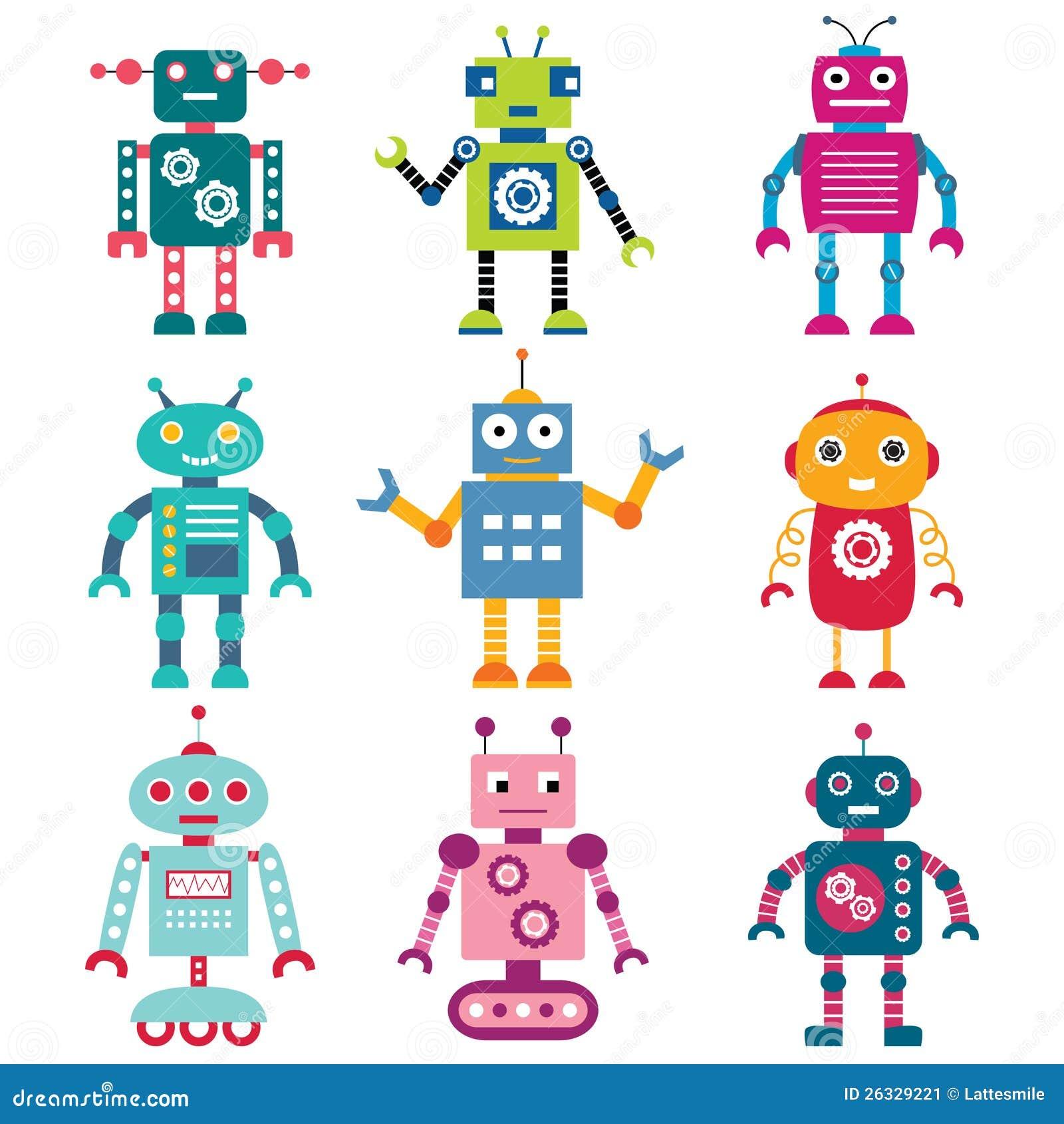 被设置的机器人