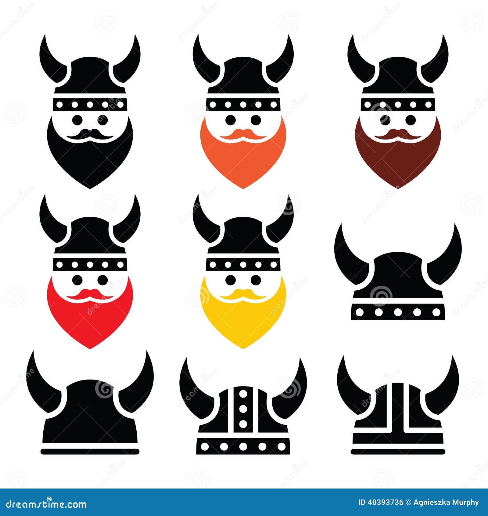 被设置的营养象的北欧感想战士海盗盔甲关于食品的图片
