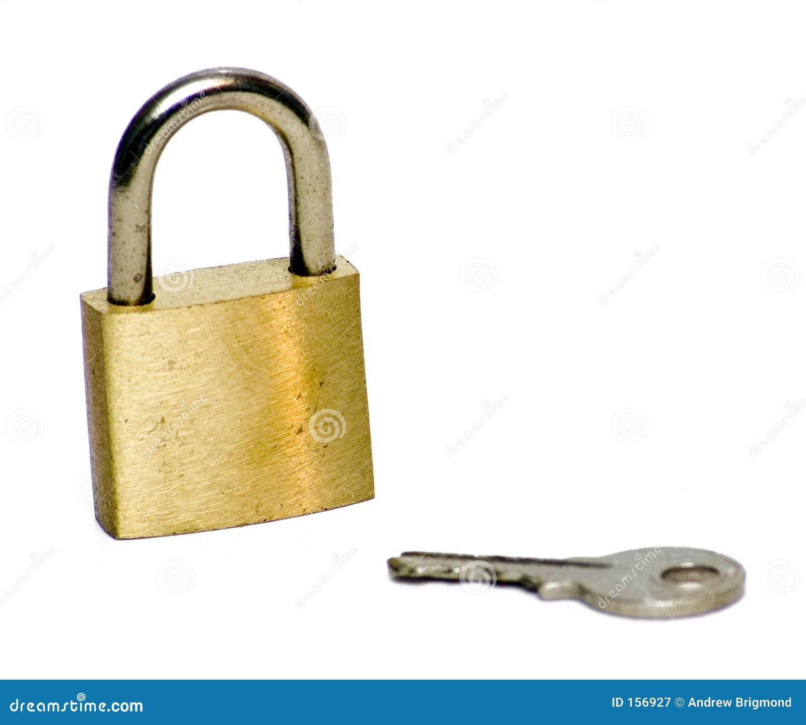 被锁定的关键锁定