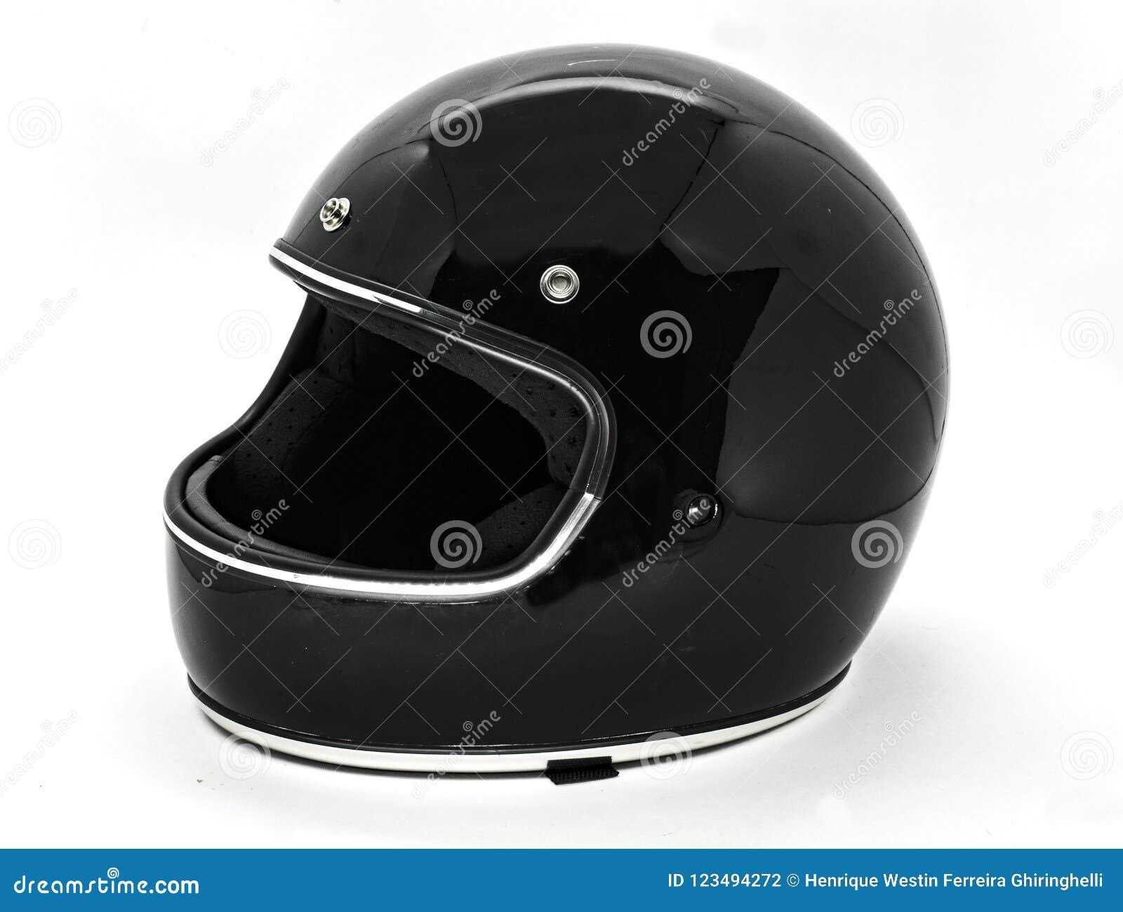 被隔绝的安全经典摩托车盔甲