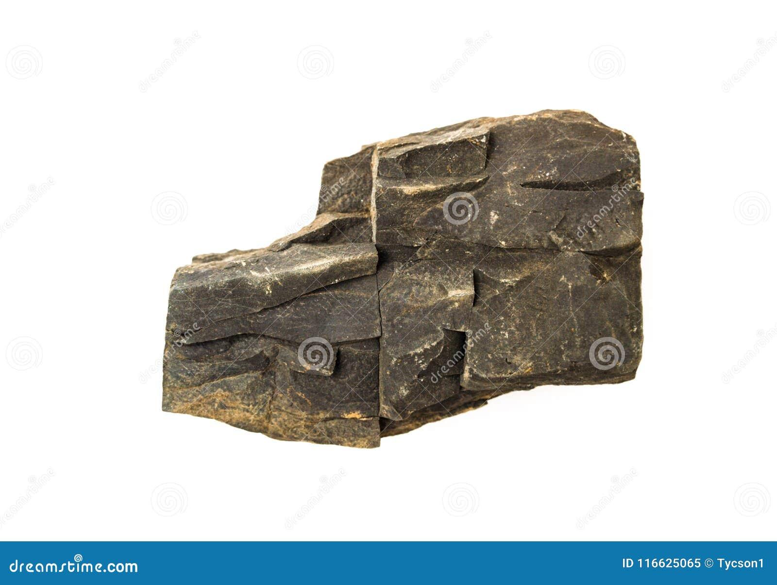 被隔绝的岩石片断
