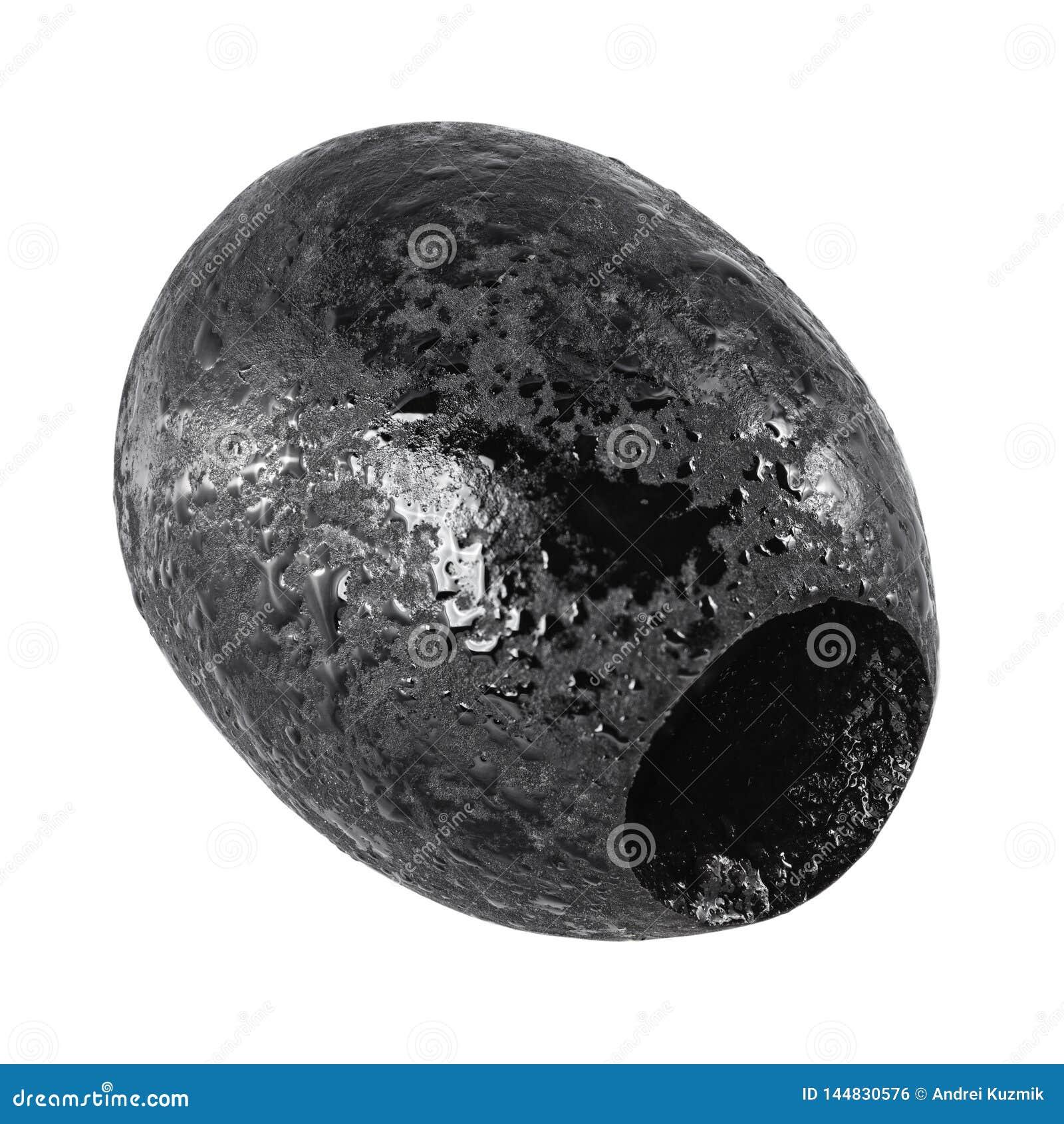 被隔绝的挖坑的黑橄榄