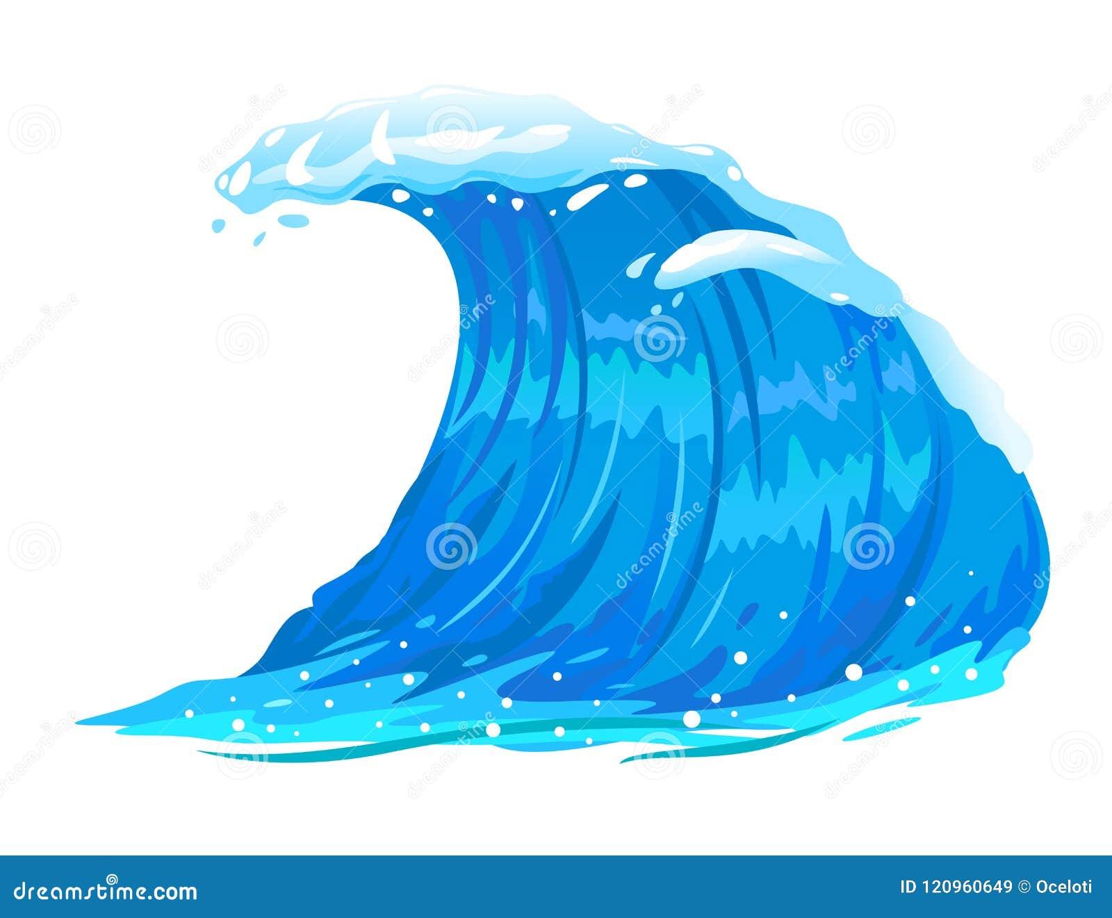 被隔绝的海浪