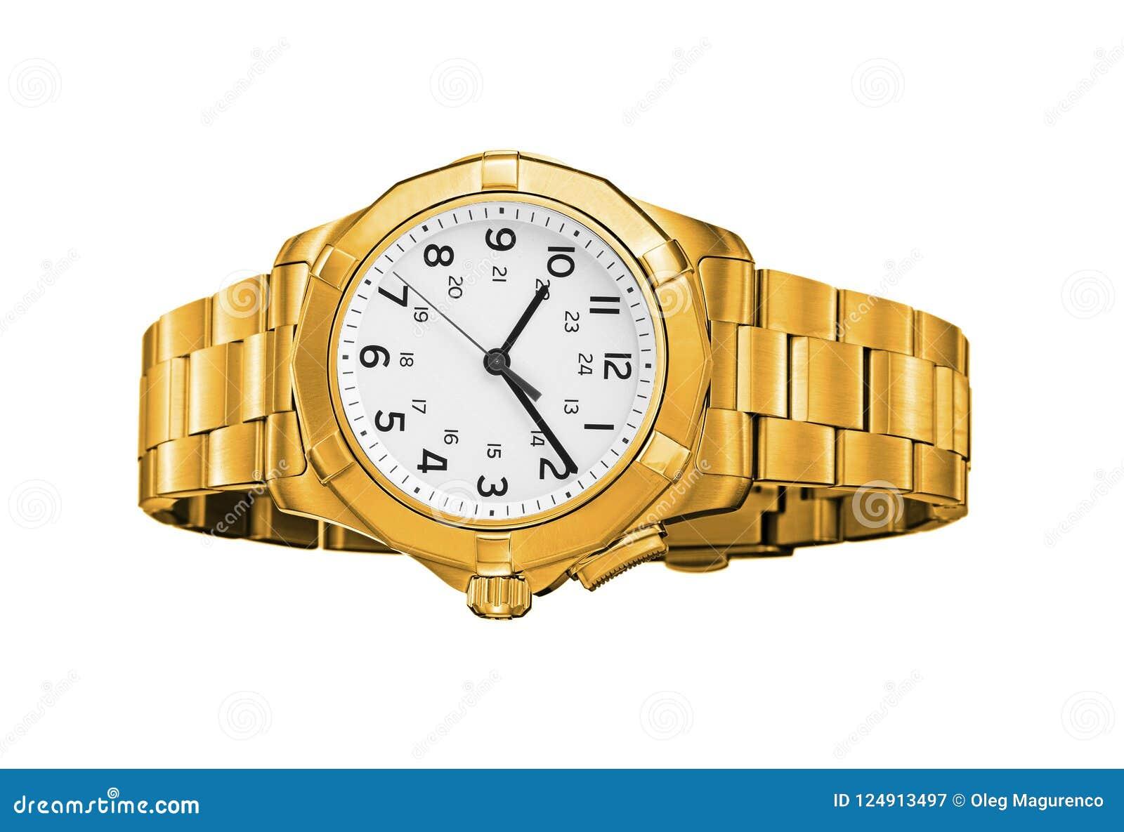 被隔绝的现代手表