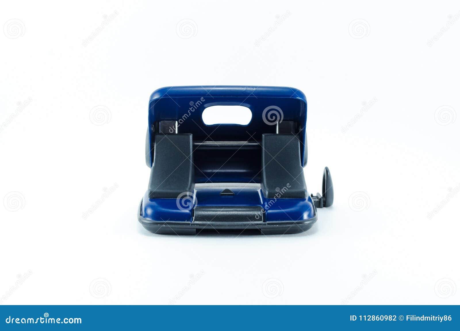 被隔绝的蓝色打孔器