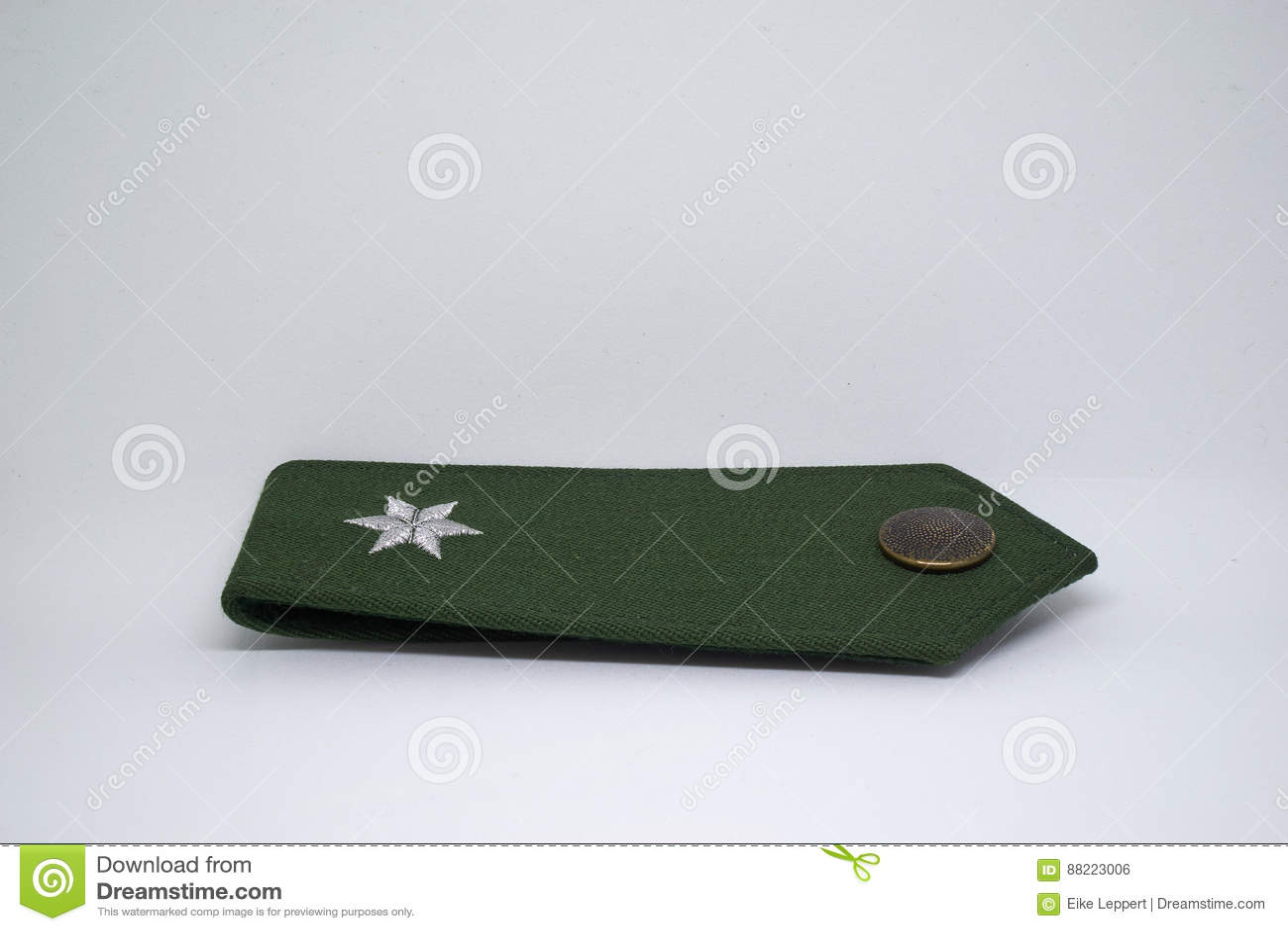 被隔绝的德国警察肩章