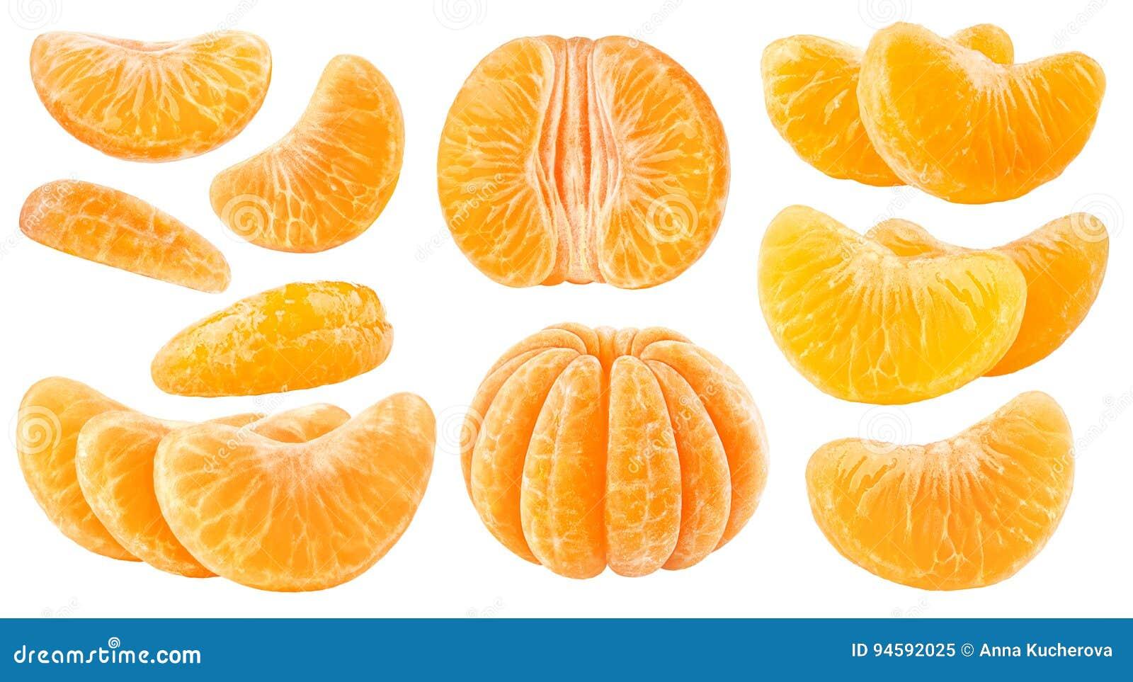 被隔绝的柑橘段