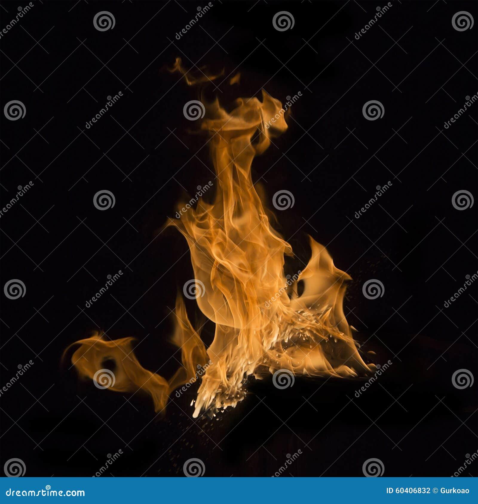 被隔绝的火火焰