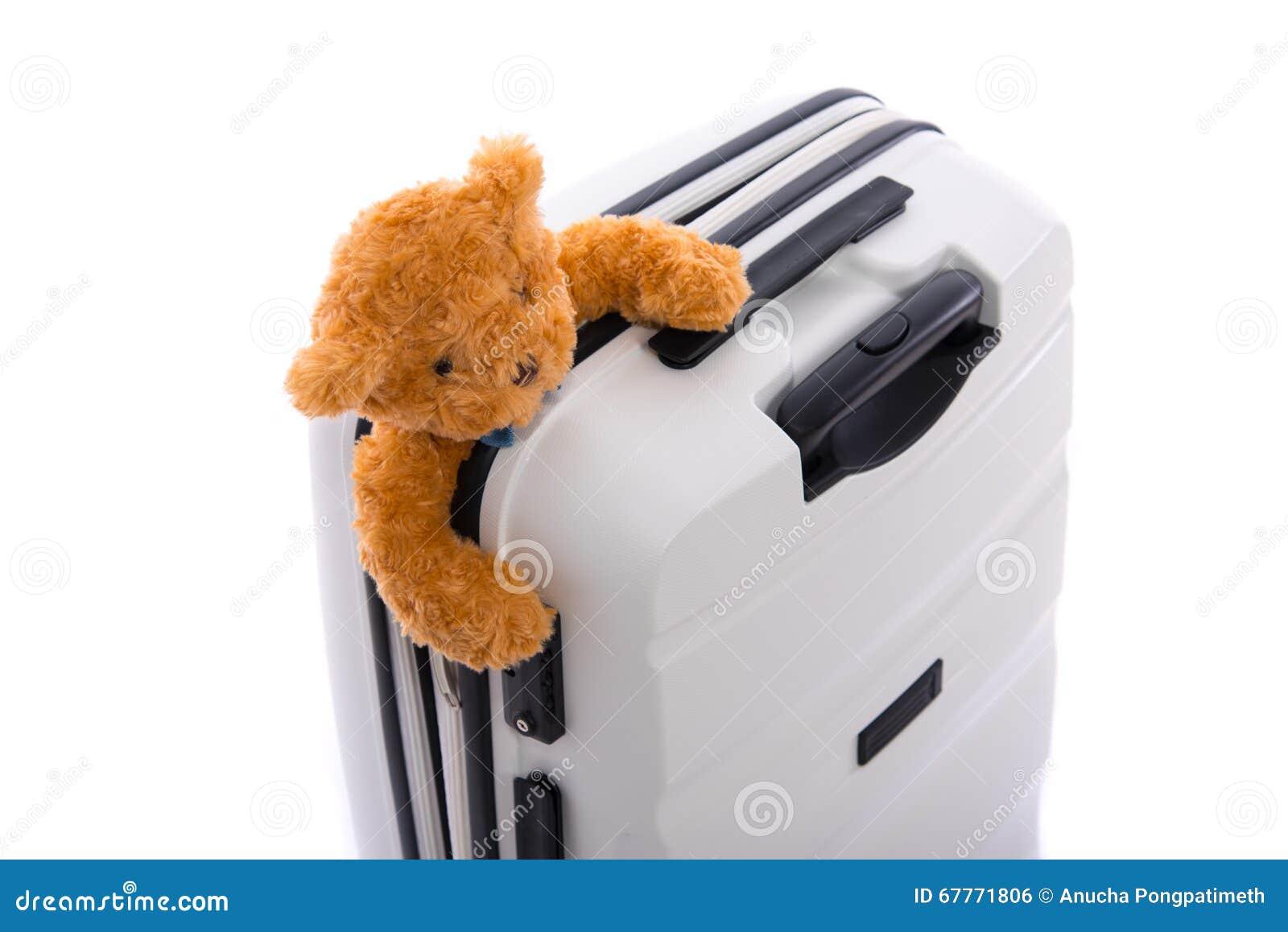 被隔绝的白色行李