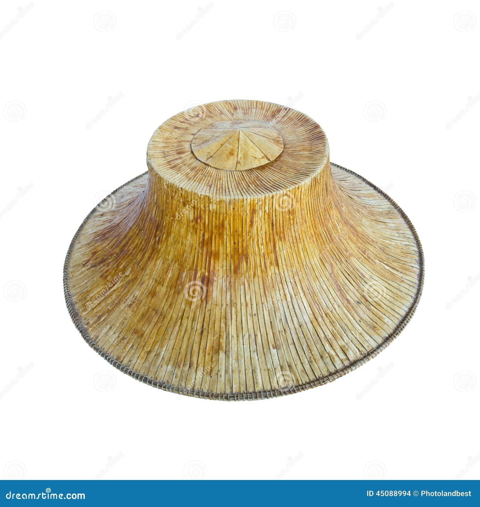 农夫帽子_被隔绝的老泰国农夫帽子