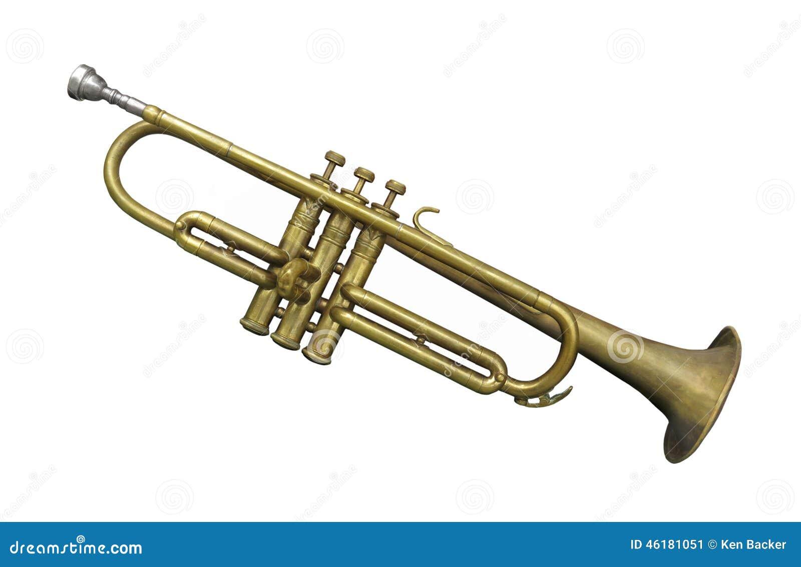 被隔绝的老黄铜喇叭