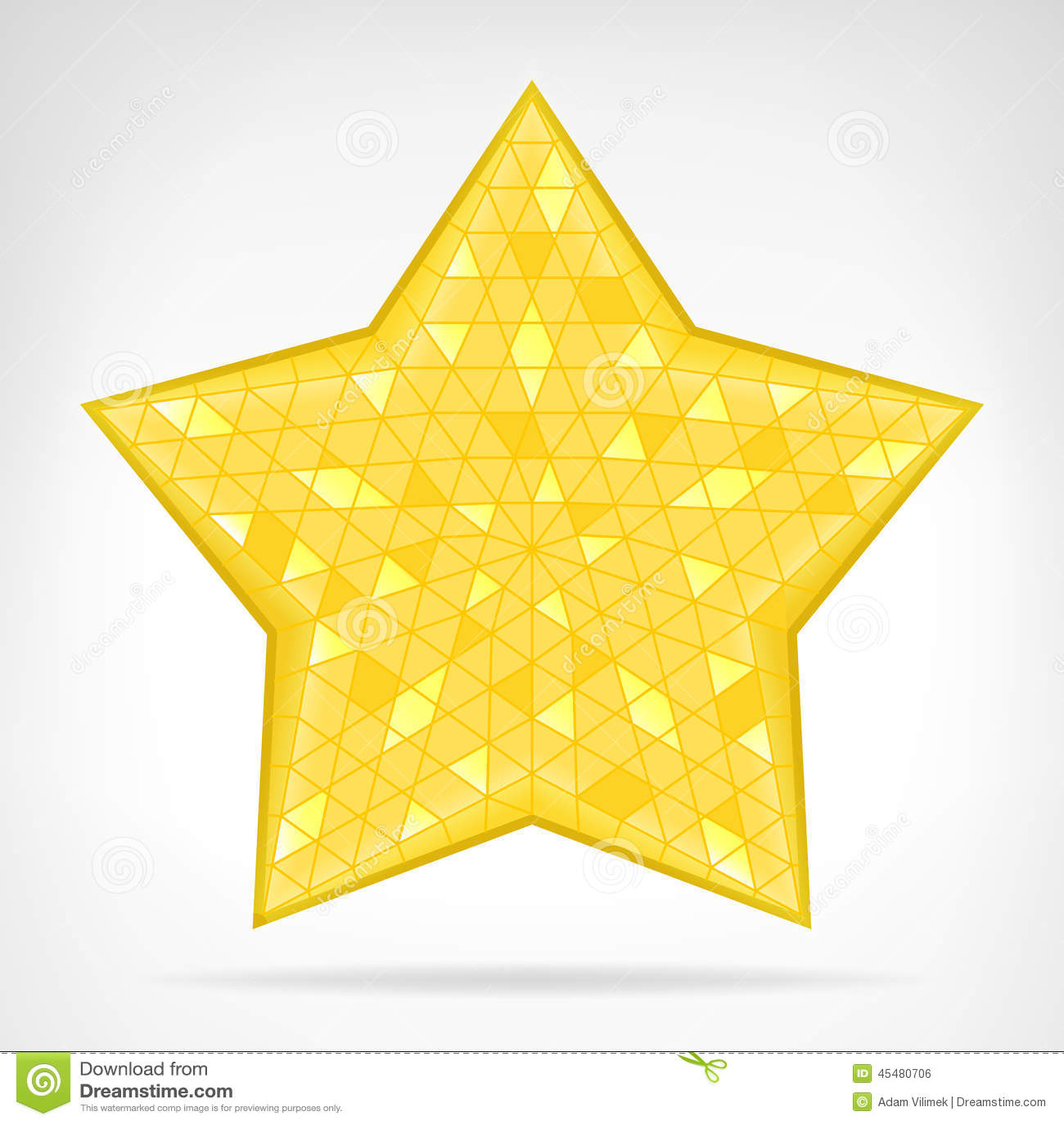 被隔绝的金黄三角星网元素