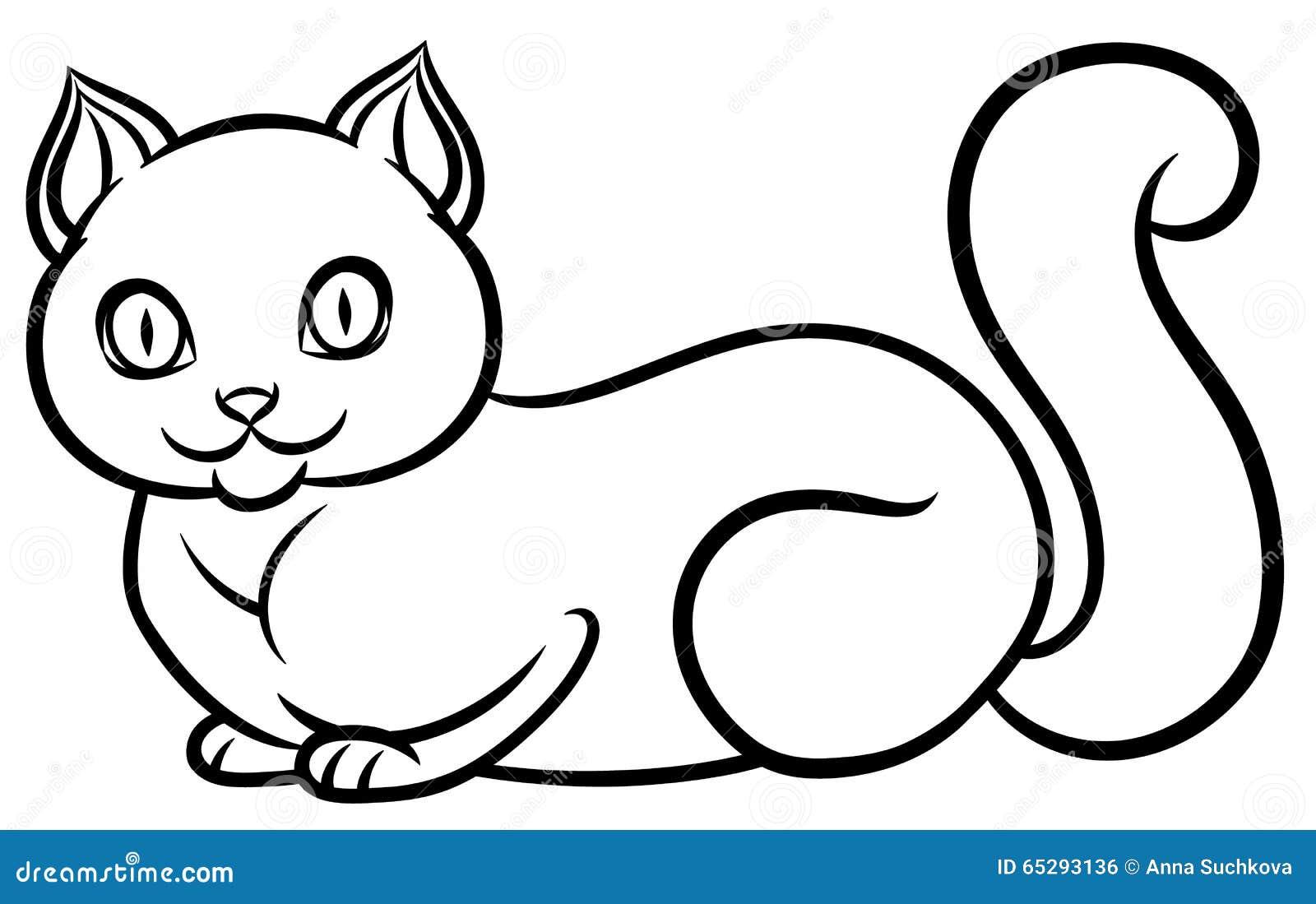 被隔绝的黑白说谎的猫