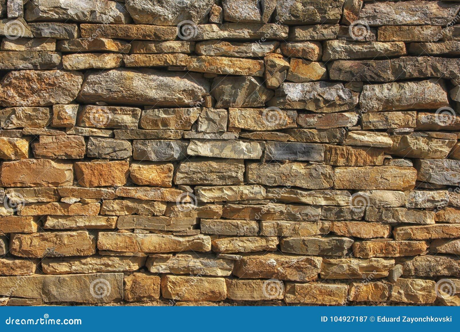 被风化的老石墙