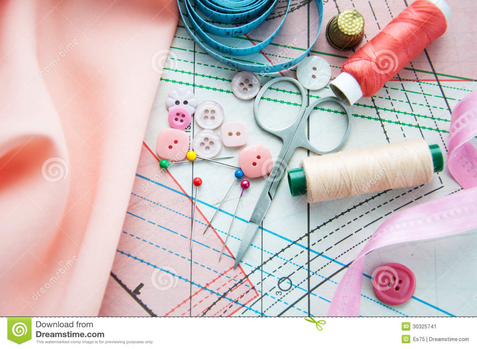 裁缝的辅助部件
