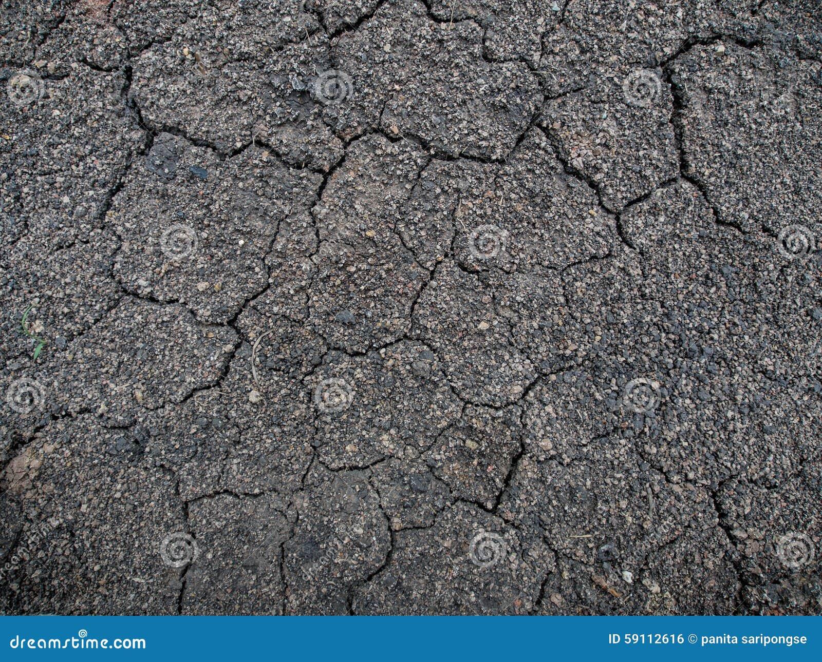破裂的土壤纹理