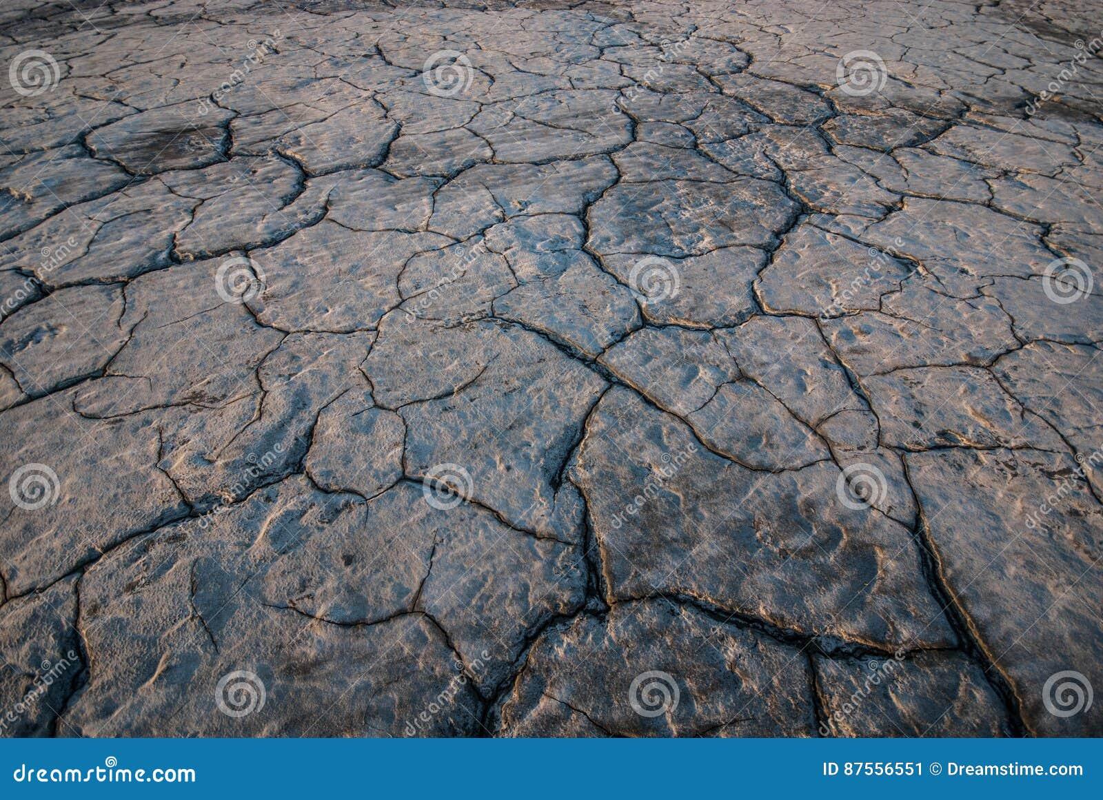 破裂的地球纹理